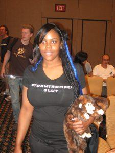 A Storm Trooper fan at DragonCon 2008.