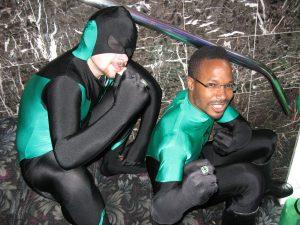 Green Lantern cosplay at DragonCon 2008.