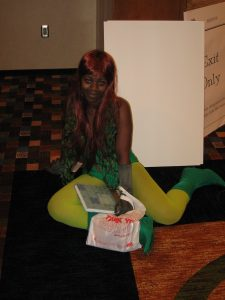 Poison Ivy cosplayer at DragonCon 2008