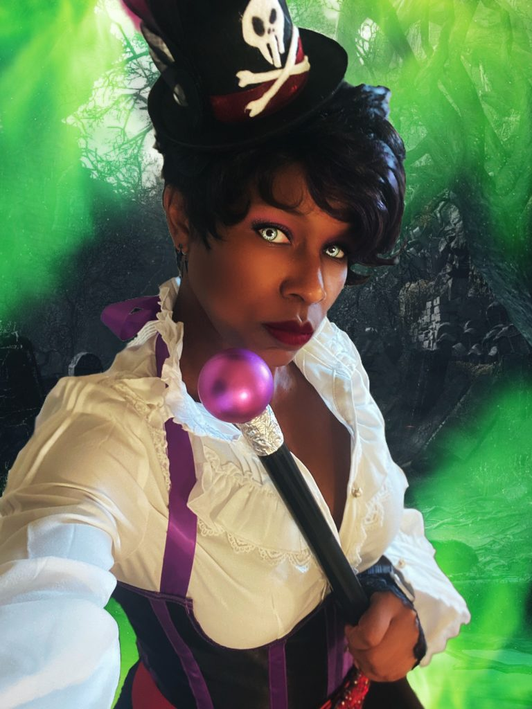 Arshes.nei_havok as Dr. Facilier from The Princess and the Frog