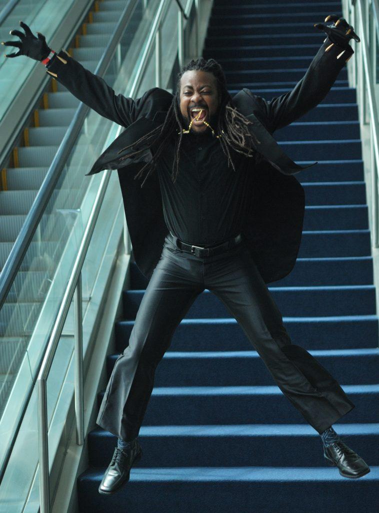 Dark Kendoka Yasuke as Evening Wear T'Challa from Black Panther