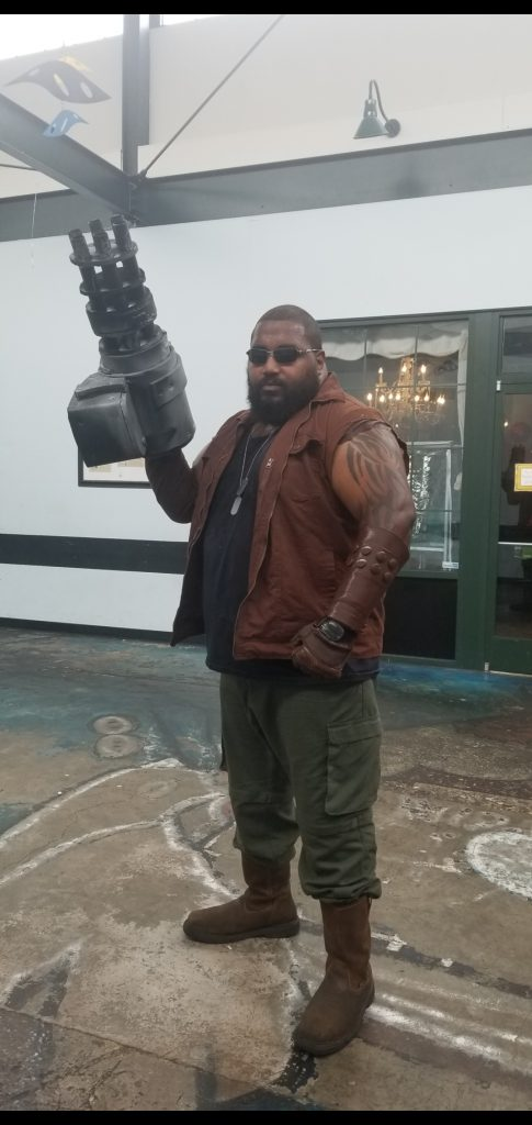 Dominator.cos as Barret Wallace from Final Fantasy VII
