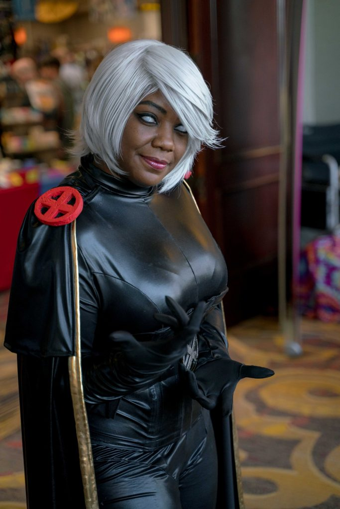 CallenCosplay dressed as Storm from X-Men